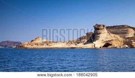 Rocks Of Mountainous Island Corsica