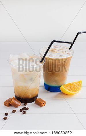 Milkshake Ice Coffee Group.
