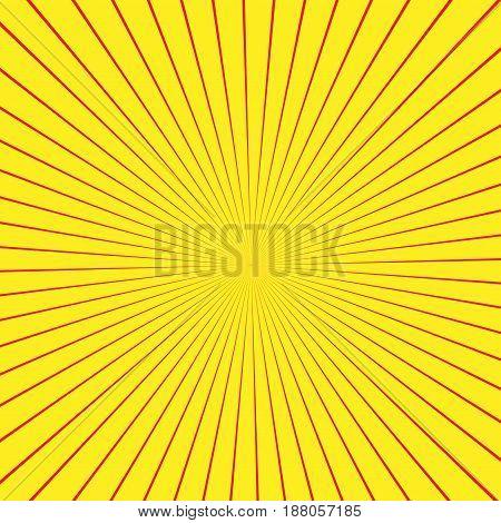Illusion Rays. Vector Illustration. Retro Sunburst Background. Grunge Design Element. Black And Whit