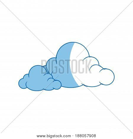 cartoon cloud graffiti artistic design vector illustration