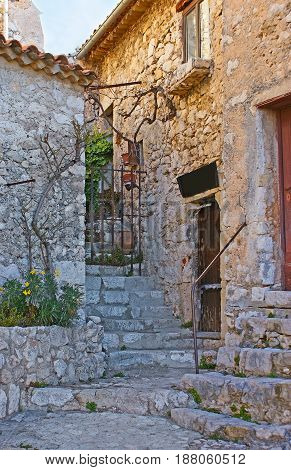 The Old Houses Of Eze