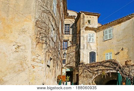 The Old Buildings Of Eze