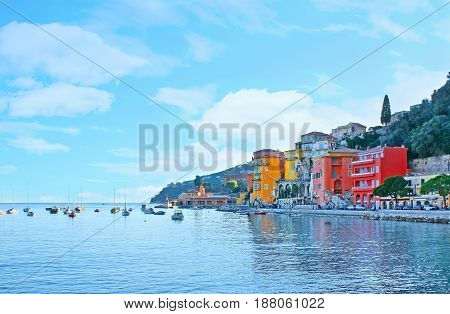The Colors Of Villefranche
