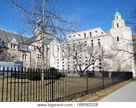 The Carr Hal in the University of Toronto Ontario Canada