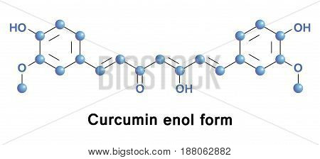 Curcumin is chemical of some plants. Diferuloylmethane is curcuminoid of turmeric, member of the ginger family. It is herbal supplement, cosmetics ingredient, food flavoring, and food coloring, E100