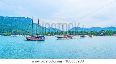 The Sail Ships