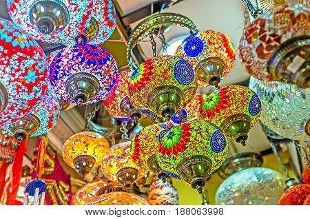 The Colors Of Arabian Lights