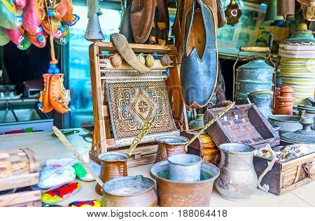 The Showcase Of Antique Stall