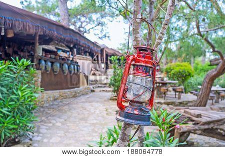The Kerosene Lamp
