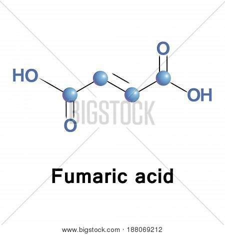 Fumaric acid or trans-butenedioic acid is the chemical compound. This white crystalline compound is one of two isomeric unsaturated dicarboxylic acids, the other being maleic acid