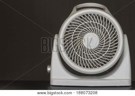Box fan, modern maximum efficiency box fan
