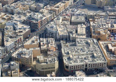Dubai Jumeirah Aerial View Photography