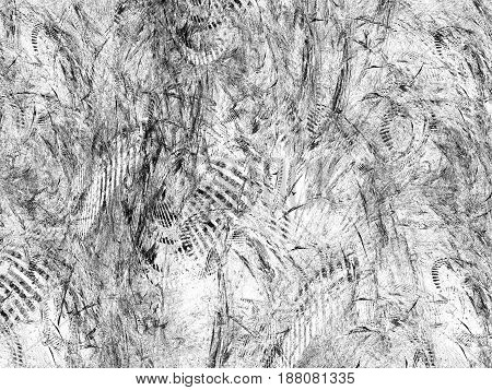 Abstract Grunge Dirty Black Pattern