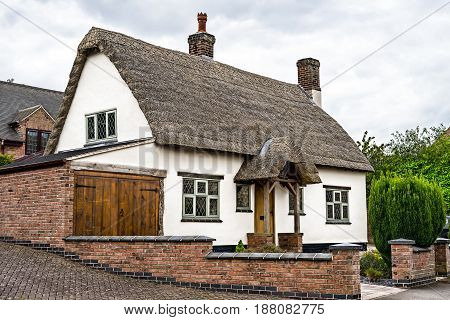 Old Style English Cottage House, Midlands, UK