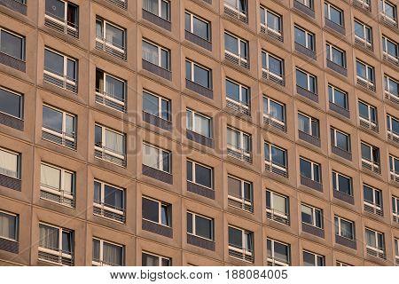 Tenement Building Facade - Apartment Block