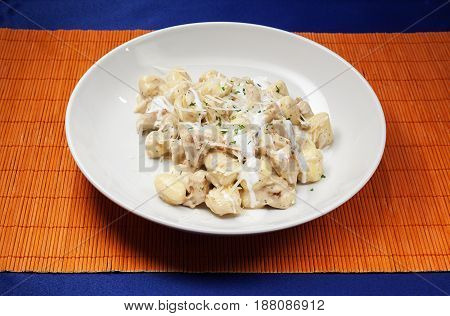 Chicken Meat With Cheese