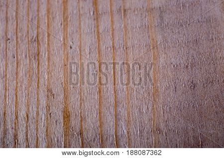 Texture Of Stripped Burned Brown Natural Wood For Backgrounds