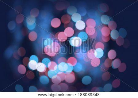 Glitter Vintage Defocused Lights Background