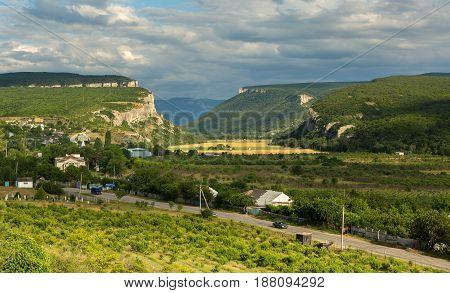 Cave City in the Bakhchysarai Raion, Crimea