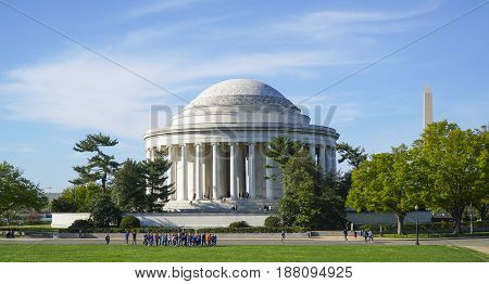 Thomas Jefferson Memorial in Washington DC - WASHINGTON - DISTRICT OF COLUMBIA
