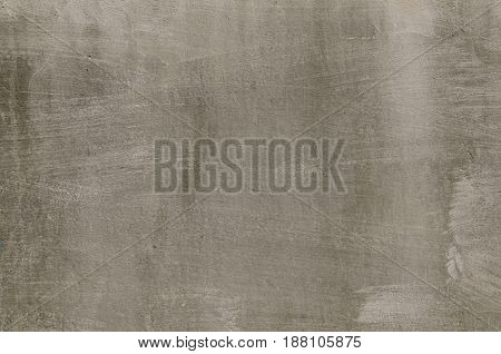 Background Of A Dark Graystucco Coated And Painted Exterior, Rough Cast Of Cement And Concrete Wall