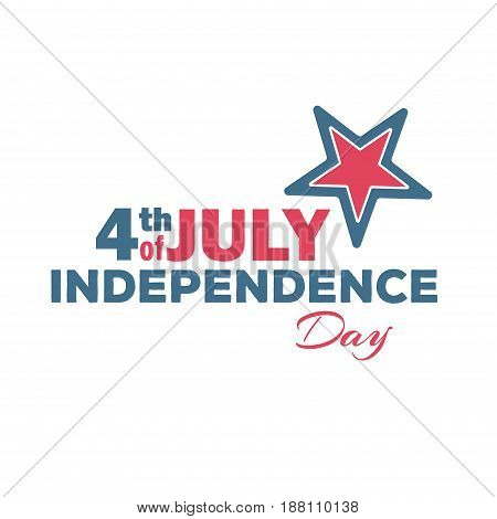 Happy Independence Day - Fourth of July - July 4th Vector