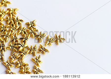 Butterfly-shaped Beads