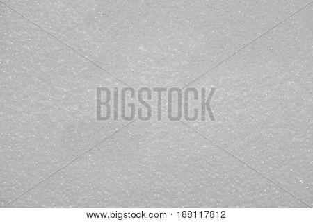 White plastic cushioning background Soft elastic and porous appearance