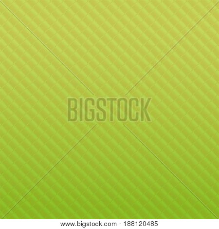 Softgreen square background, copy space, vector illustration.