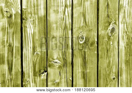 Yellow Toned Wood Fence Pattern.