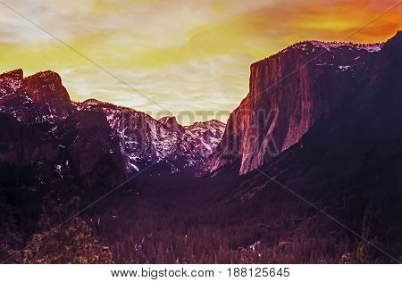 Yosemite National Park is a United States National Park spanning eastern portions of Tuolumne Mariposa and Madera counties in the central eastern portion of the U.S. state of California commonly referred to as Northern California.