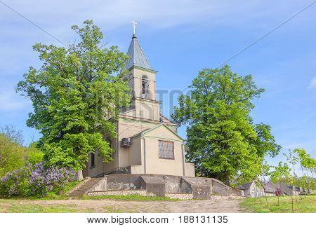 old orthodox monastery in Varzaresti village from Moldova