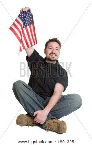 American Flag Man