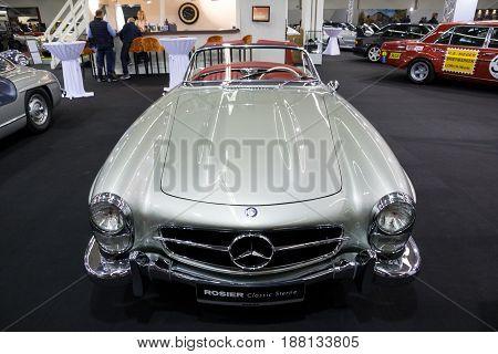 1957 Mercedes Benz 300 Sl Roadster Classic Car