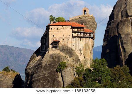 Meteora Rock Landscape Greece