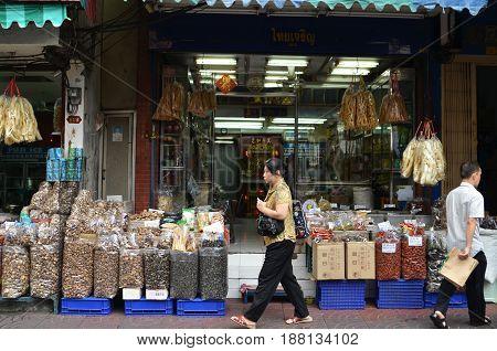 Bangkok Chinatown In Bangkok