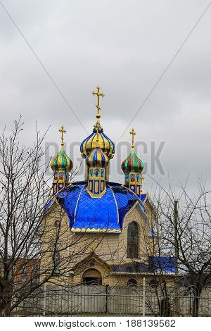 Orthodox church in the Tulchin town, Ukraine