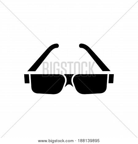 Sunglasses Icon. Beach And Vacation Icon Vector Illustration