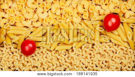 Background From Different Pasta Types