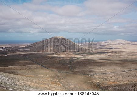 Landscape Fuerteventura Canary islands Spain beutiful view