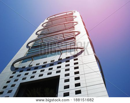 MCB Tower - Landmark in Karachi Pakistan 12/04/2009
