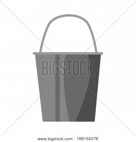 pail plastic object vector icon illustration graphic design