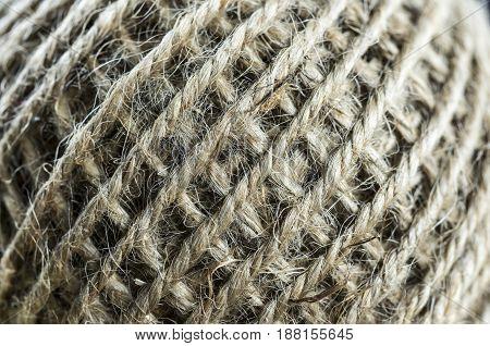 Skein Of Jute Twine Texture