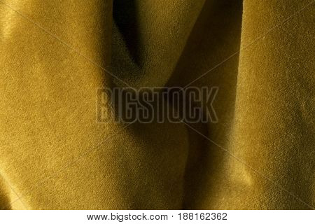 Golden Velour Fabric Background, Velvet,mohair,cashmere Effect.