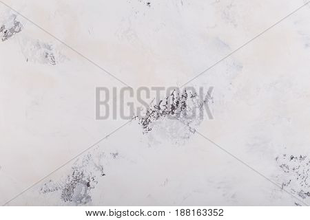 White stone texture with natural pattern for background or design art work.