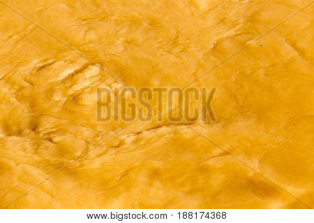 Dirty water in a stormy river as a background .