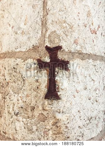 Cross of Jesus for Easter or Sunday service