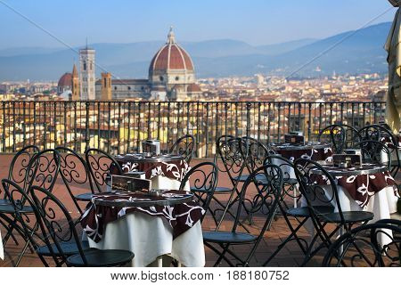 Cafe In Florencia