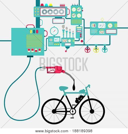 Electric Bike And Oil Production
