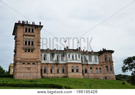 Kellie Castle Located In Batu Gajah, Malaysia